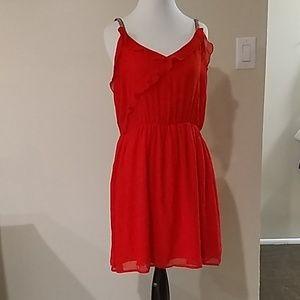 Trafaluc  Zara Red Dress